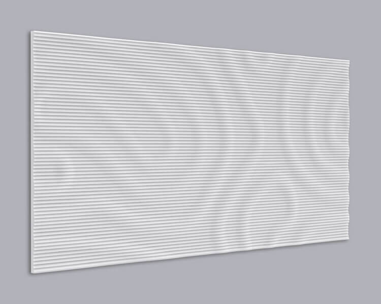 3D Wandpaneel MDF 065 aus MDF-Holz