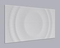 3D Wandpaneel MDF 068 aus MDF-Holz