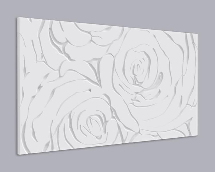 3D Wandpaneel MDF 070 aus MDF-Holz