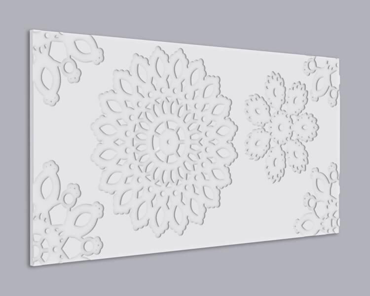3D Wandpaneel MDF 071 aus MDF-Holz