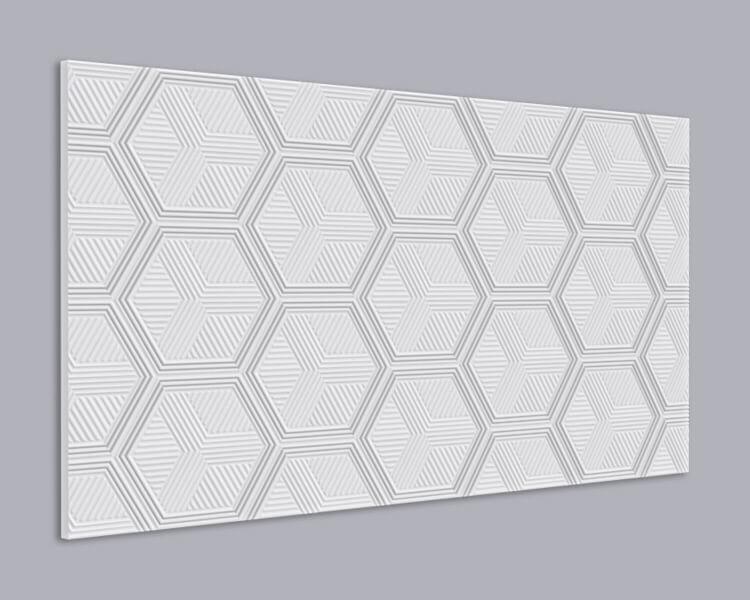 3D Wandpaneel MDF 074 aus MDF-Holz