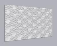 3D Wandpaneel MDF 075 aus MDF-Holz