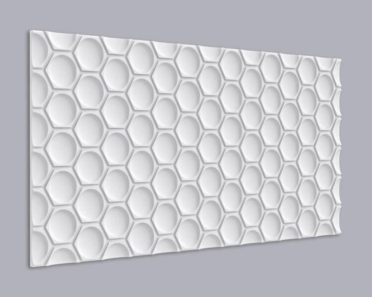 3D Wandpaneel MDF 079 aus MDF-Holz