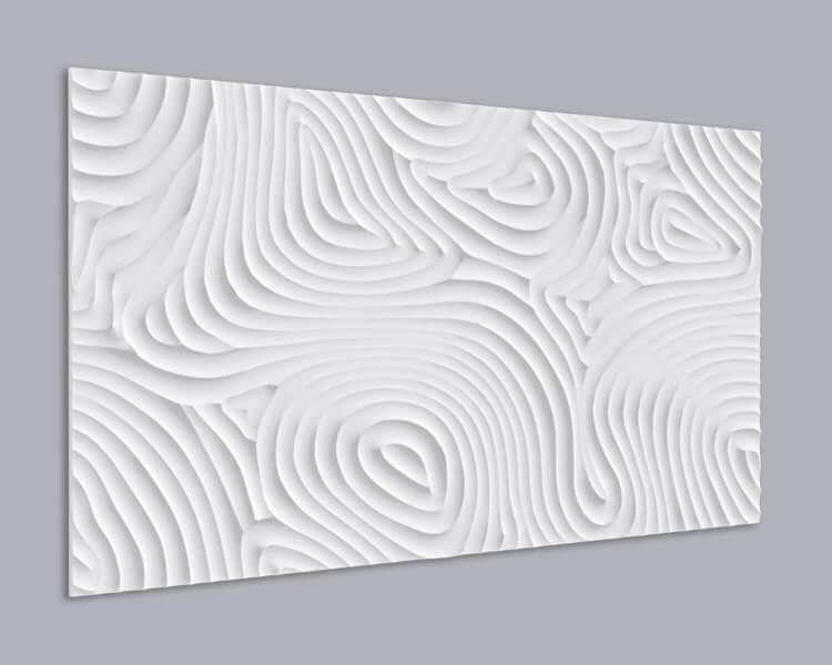 3D Wandpaneel MDF 081 aus MDF-Holz