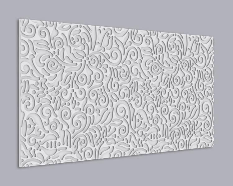 3D Wandpaneel MDF 084 aus MDF-Holz