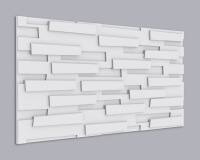 3D Wandpaneel MDF 085 aus MDF-Holz