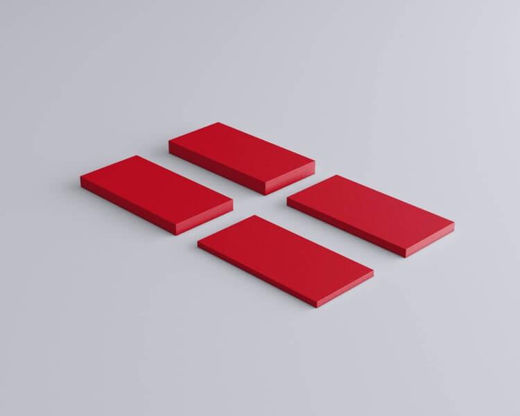 Weiches 3D Wandpaneel Rechteck Line von fluffo