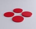 Weiches 3D Wandpaneel Dot in Kreisform form von fluffo