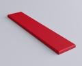 Weiches 3D Wandpaneel Stick edge mit abgeschrägten Kanten von fluffo