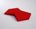 Weiches 3D Wandpaneel Chain von fluffo