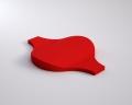 Weiches 3D Wandpaneel Flow von fluffo