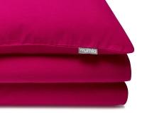 Baumwoll-Kinderbettwäsche in pink uni Farbe