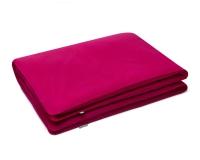Kinderbettwäsche aus Baumwolle hochwertig in pink uni