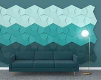 3D Wandpaneel Wohnzimmer Chain für kreative Schalldämmung