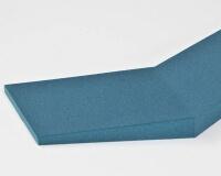 3D Wandpaneel Chevron von fluffo aus weichem Akustikschaumstoff