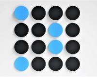 Runde Akustikpaneele  für Schalldämmung im Büro Dot