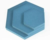 fluffo Hexa 3D Wandpaneel