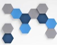 Hexagon 3D Paneel Hexa fluffo