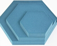 Hexagon 3D Paneele Hexa für perfekte Schalldämmung