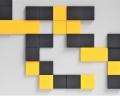 Wandpaneele aus weichem Akustikschaumstoff Pixel von fluffo