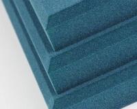 3D Wandpaneel Pixel edge aus weichem Akustikschaumstoff
