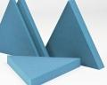 Dreieckige 3D Paneele Triada fluffo