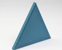 Dreieck 3D Wandpaneel Triada edge fluffo