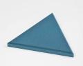 Dreieckiges Wandpaneel Triada edge mit abgeschrägten Kanten