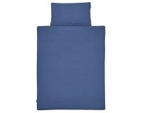 Kinderbettwäsche blau in 90x120 cm und 100x135 cm