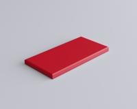 Weiches 3D Wandpaneel Rechteck Line edge mit abgeschrägten Kanten von fluffo