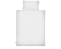 Kinderbettwäsche weiß in 90x120 cm und 100x135 cm
