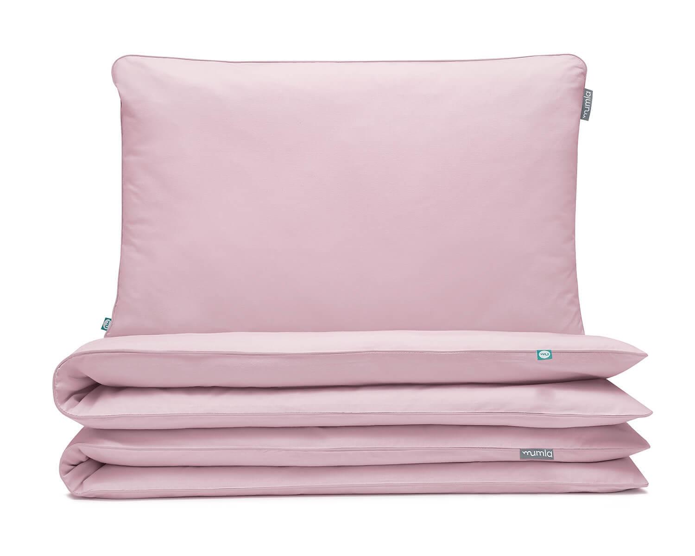 Bettwäsche Rosa Uni Farbe Hochwertige Baumwolle