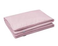 Baumwoll Bettbezüge in rosa uni Farbe