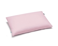 Bettwäsche aus Baumwolle hochwertig in rosa uni