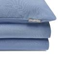 Mumla Bettwäsche in hellblau. Moderne und hochwertige Bettwäsche