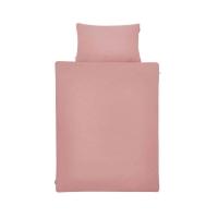 Altrosa Bettwäsche von Mumla. Baumwoll-Bettwäsche in Unifarbe rosa
