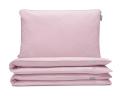 Kinderbettwäsche rosa uni aus hochwertiger Baumwolle