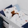 Mumla Bettwäsche Weltall Kosmos Astronaut Kinder