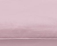Baumwoll-Kinderbettwäsche in rosa uni Farbe