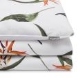 Baumwoll-Bettwäsche Paradiesvogelblume Strelizienblüte Kinder