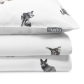 Mumla Katzen-Bettwäsche