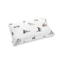 Mumla Kissenbezug mit Katzen-Motiv