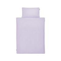 Baumwol-Bettwäsche Basic Unifarbe Lavendel Flieder von Mumla