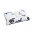 Mumla Kissenbezug Wale & Delfine aus Baumwolle