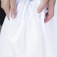 Weißes Bettlaken ohne Gummizug von HOP Design PURE Premium