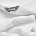 Mumla Frottee Handtuch weiß reine Baumwolle