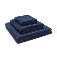 Baumwoll Handtücher Dunkelblau Frottee von Mumla