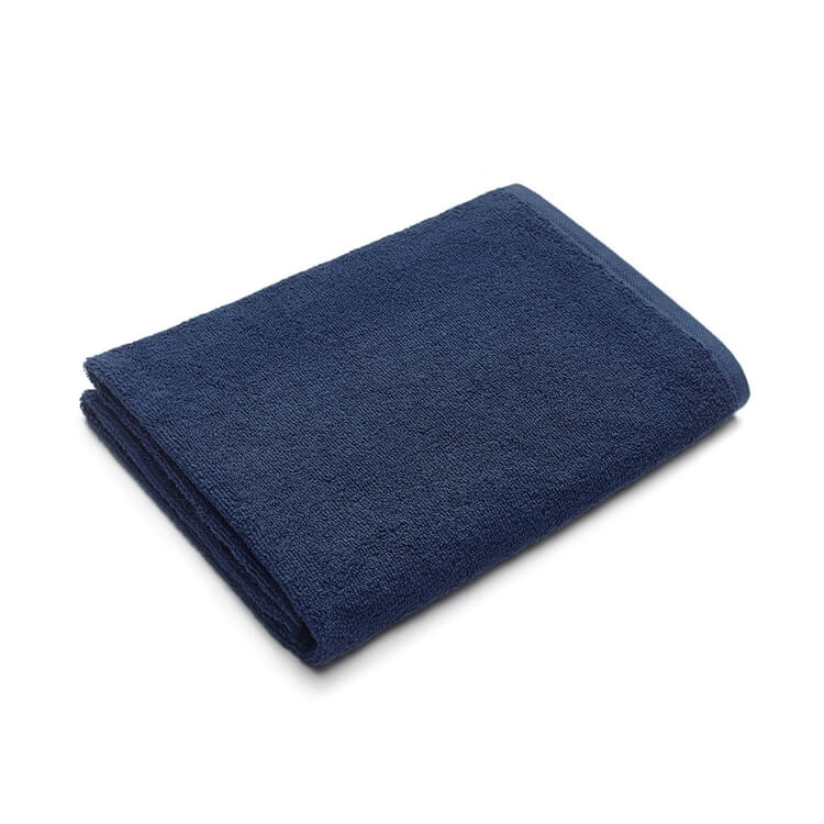 Mumla Handtücher Dunkelblau Frottee Baumwolle