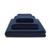 Mumla Handtücher Set Dunkelblau Baumwolle