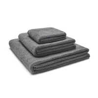 Baumwoll Handtücher Grau Frottee von Mumla